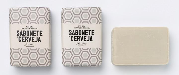 Sabonete de Cerveja Sovina . beer soap,