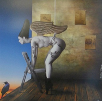 Hector Pineda, surrealism now,