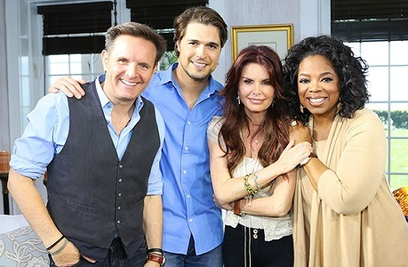 Mark Burnett Diogo Morgado Roma Downey Oprah 1