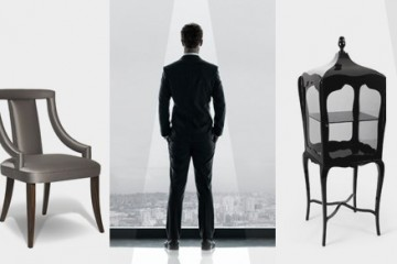 50 Shades of Grey featuring furniture from Portuguese designers Boca do Lobo, Koket, Brabbu and Delightfull