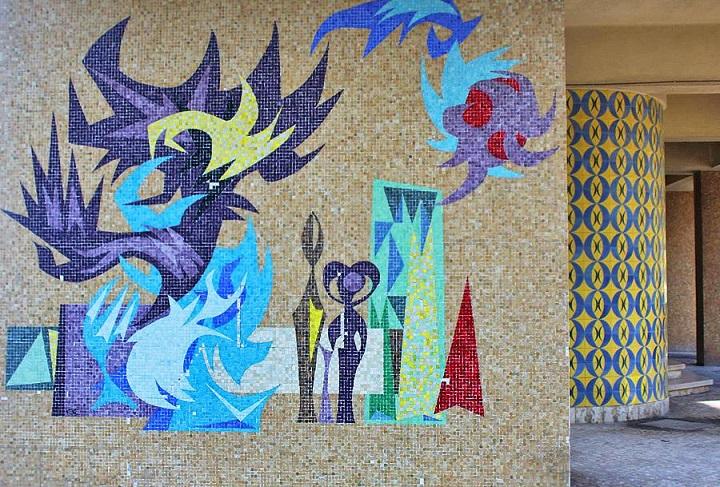 Lisbon Week - Tile Mosaic in Alvalade