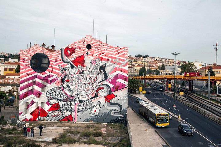 Underdogs Urban Art Tour - HOW&NOSM -Alexander Silva