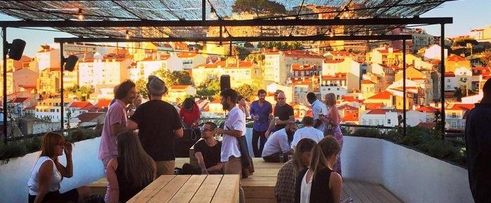 topo rootftop bar lounge terrace lisbon lisboa,