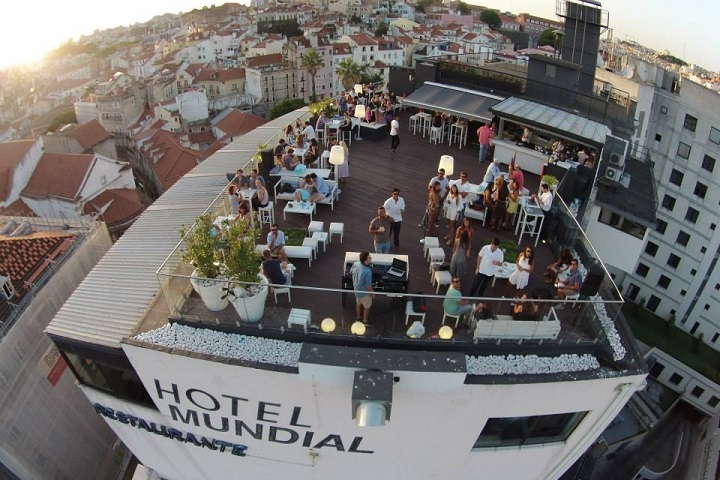 Hotel Mundial Rooftop Bar