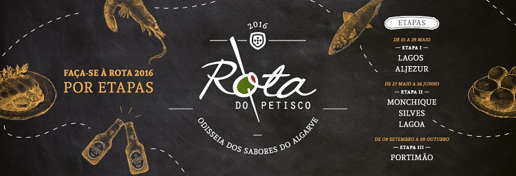 rota do petiscos 2016 algarve