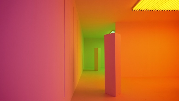 Carlos Cruz-Diez Chromosaturation MAAT