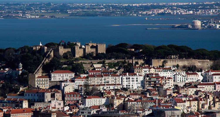 Amoreiras 360 view lisbon