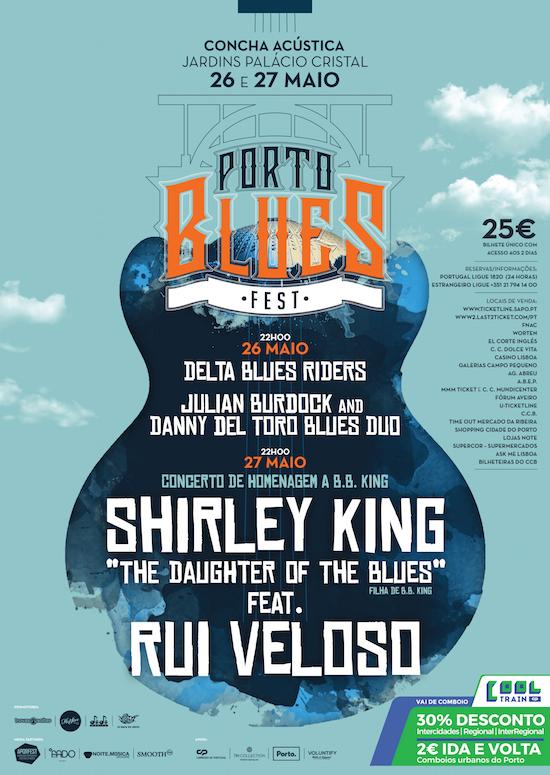 porto blues fest cartaz poster 2017
