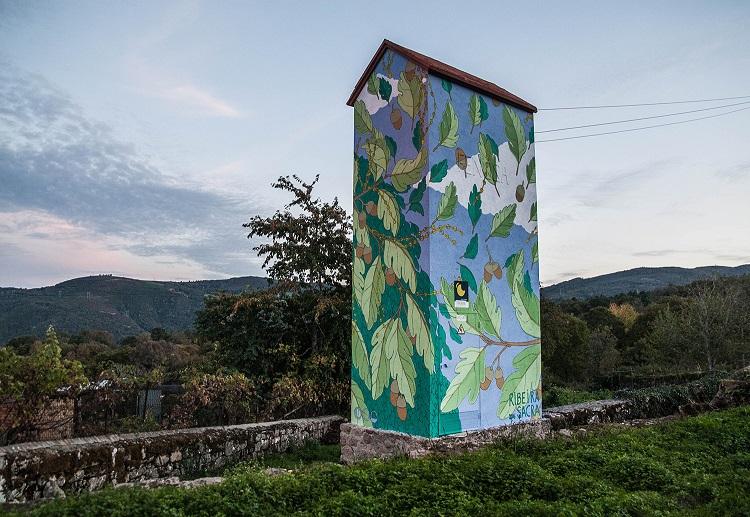 Wool urban art festival covilha 2017, doa oa,