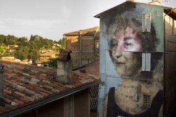 Wool urban art festival covilha 2017,