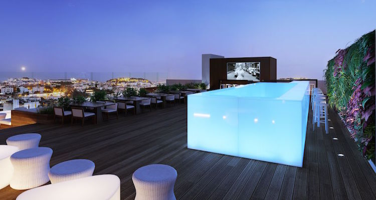 Level Eight Rooftop Bar Amp Lounge Lisbon Portugal