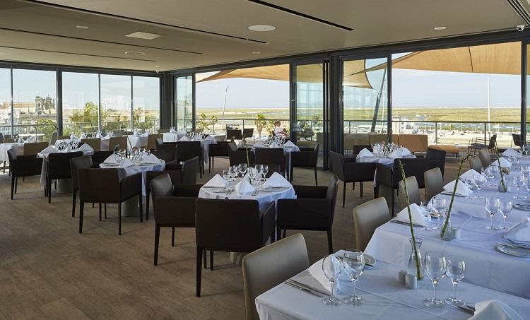 Restaurante Ria Formosa rooftop terrace Faro