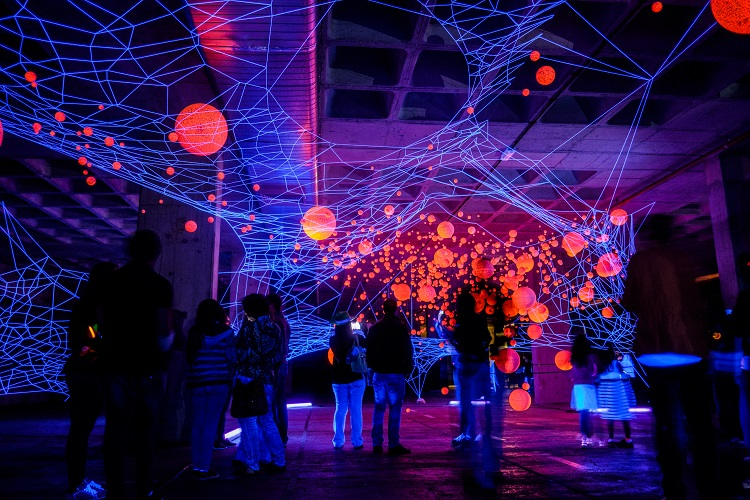 lumina light festival cascais, ocubo lumina, light festival portugal,