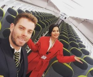 tap airlines most handsome crew,
