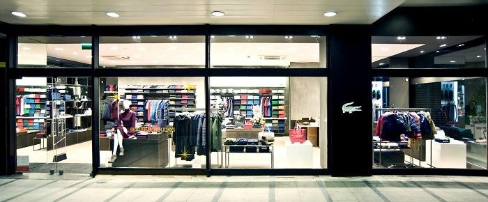 23175ce3a Lacoste Flagship Store on Avenida da Liberdade in Lisbon - Portugal ...