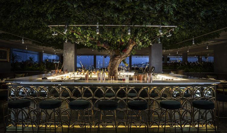 SEEN Lisboa by Olivier, Rooftop Restaurant at Tivoli Avenida
