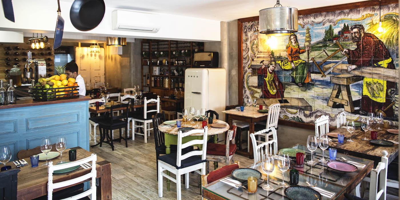 Sr. Lisboa – Playful Portuguese Cuisine in Lisbon